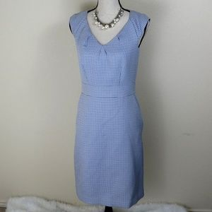 Banana Republic Blue and White Dress Size 6
